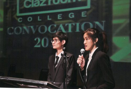 Clazroom Convocation graduation
